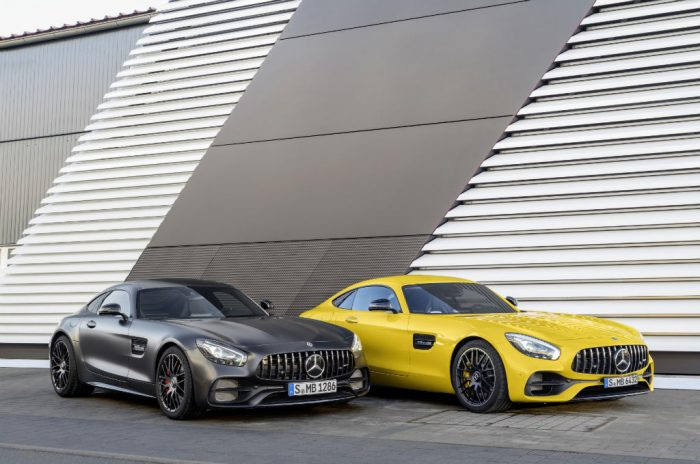 Mercedes AMG GT C Edition 50 and GT S 700x464 - Mercedes-AMG GT C Announced to Celebrate 50 Year Partnership - Mercedes-AMG GT C Announced to Celebrate 50 Year Partnership