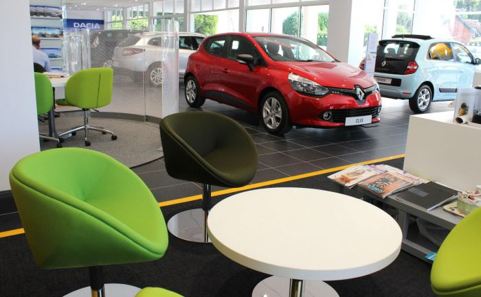 New Car Dealership Renualt carwitter 700x433 - Preparations Needed By Auto Lending Companies And Consumers In 2019 - Preparations Needed By Auto Lending Companies And Consumers In 2019