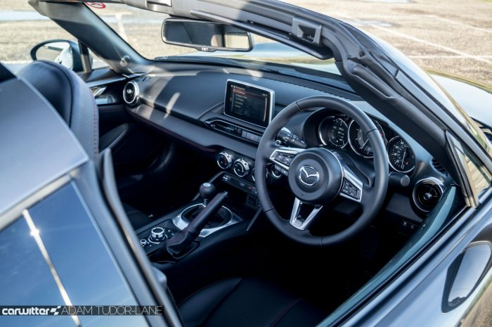 2017 Mazda MX 5 RF Review Interior carwitter 700x465 - 5 Tips for inspecting a used car before you buy - 5 Tips for inspecting a used car before you buy