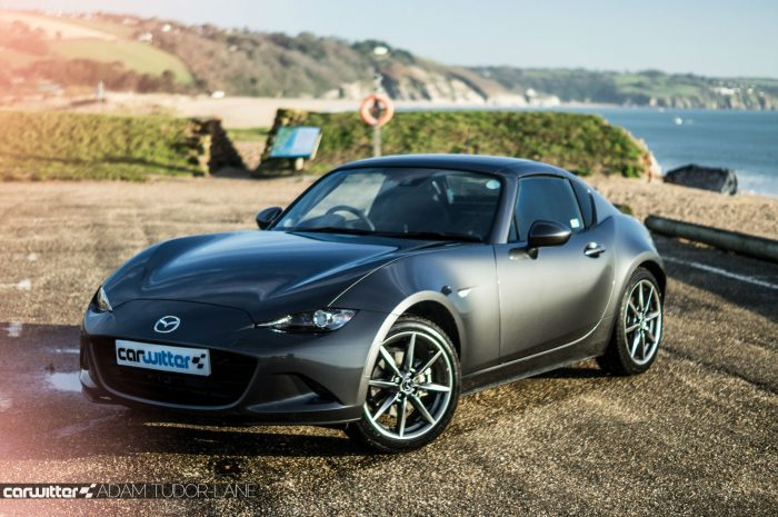 2017 Mazda MX 5 RF Review Side Close Roof Up carwitter 700x465 - Mazda MX-5 RF Sport Nav Review - Mazda MX-5 RF Sport Nav Review