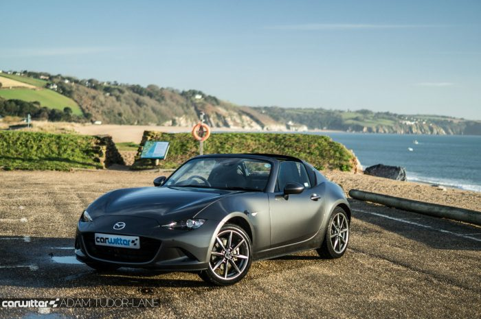 2017 Mazda MX 5 RF Review Side Scene Beach carwitter 700x465 - Mazda MX-5 RF Sport Nav Review - Mazda MX-5 RF Sport Nav Review