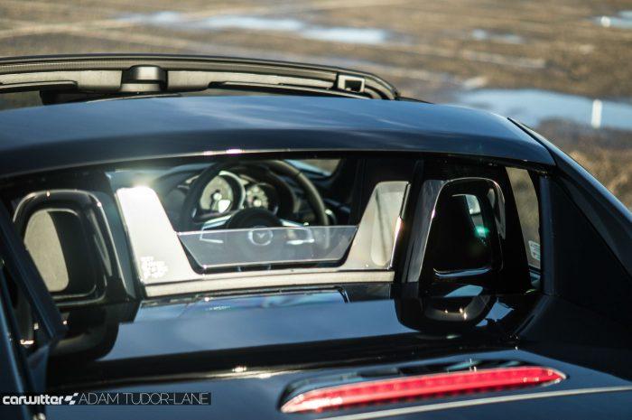2017 Mazda MX 5 RF Review Windbreak carwitter 700x465 - Mazda MX-5 RF Sport Nav Review - Mazda MX-5 RF Sport Nav Review