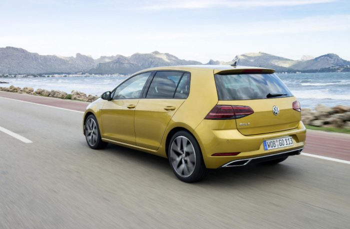 2017 Volkswagen Golf Back 700x458 - Prices and Details Announced for New VW Golf - Prices and Details Announced for New VW Golf