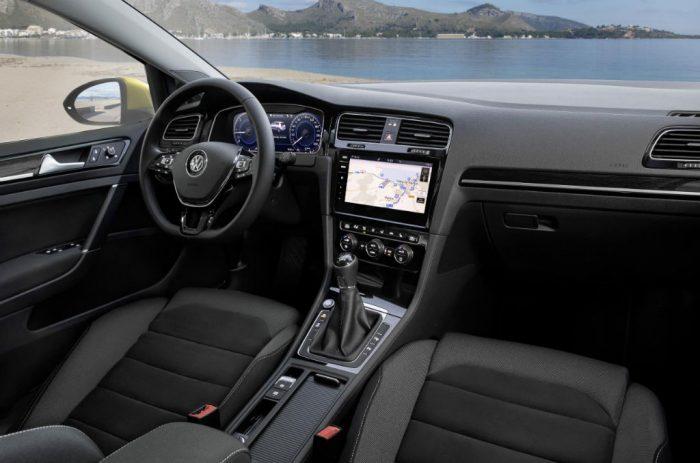 2017 Volkswagen Golf Interior 700x463 - Prices and Details Announced for New VW Golf - Prices and Details Announced for New VW Golf
