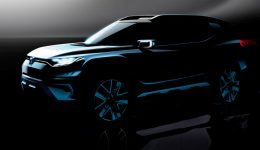 SsangYong XAVL Front Quarter 260x150 - SsangYong XAVL SUV Concept Teased Ahead of Geneva - SsangYong XAVL SUV Concept Teased Ahead of Geneva