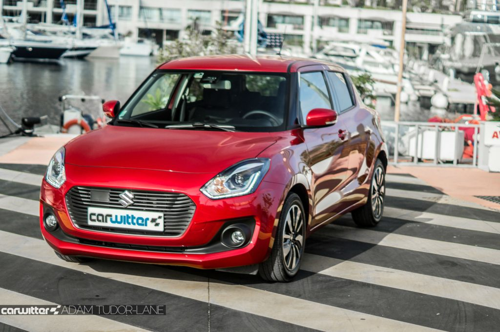 2017 Suzuki Swift Review Front Angle carwitter 1024x681 - New 2017 Suzuki Swift Review - New 2017 Suzuki Swift Review