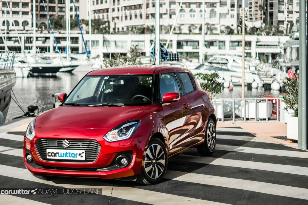 2017 Suzuki Swift Review Front Side Angle carwitter 1024x681 - New 2017 Suzuki Swift Review - New 2017 Suzuki Swift Review