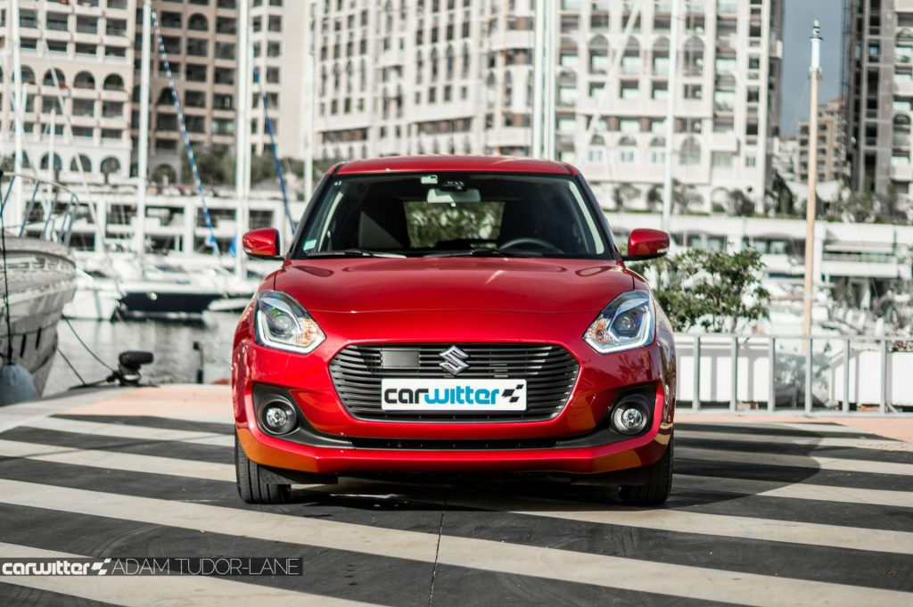 2017 Suzuki Swift Review Front carwitter 1024x681 - New 2017 Suzuki Swift Review - New 2017 Suzuki Swift Review