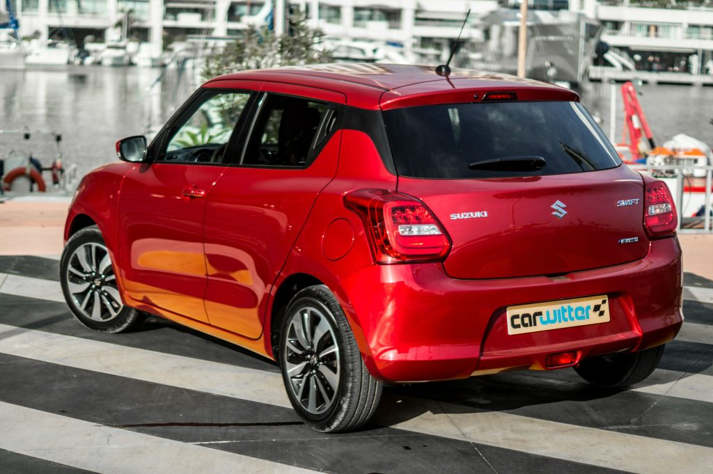 2017 Suzuki Swift Review Rear Side Close carwitter 1024x681 - New 2017 Suzuki Swift Review - New 2017 Suzuki Swift Review