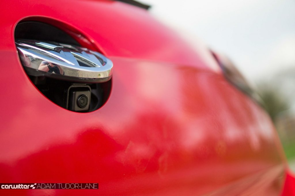 2017 Volkswagen Golf GTi Review Rear Camera carwitter 1024x681 - 6 Cost-Effective Enhancements That Will Improve Driver Safety - 6 Cost-Effective Enhancements That Will Improve Driver Safety