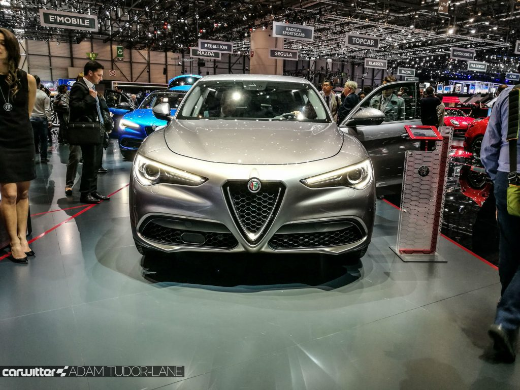 Geneva Motor Show 2017 Alfa Romeo Stelvio carwitter 1024x768 - A satirical wander around the 2017 Geneva Motor Show - A satirical wander around the 2017 Geneva Motor Show