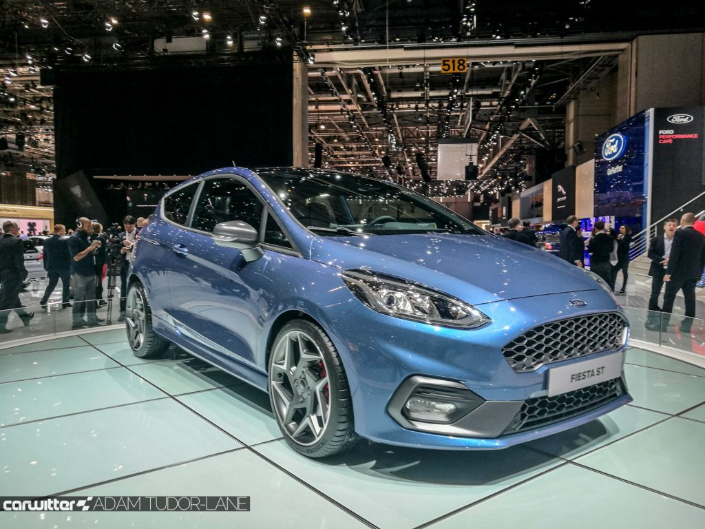 Geneva Motor Show 2017 Ford Fiesta ST Front carwitter 1024x768 - A satirical wander around the 2017 Geneva Motor Show - A satirical wander around the 2017 Geneva Motor Show