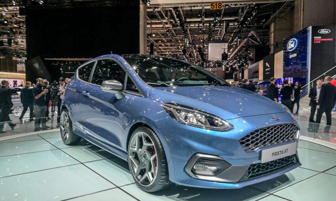 Geneva Motor Show 2017 Ford Fiesta ST Front carwitter 1400x840 - Self-Driving Cars and Hybrid Vans: What's Ford's Future? - Self-Driving Cars and Hybrid Vans: What's Ford's Future?