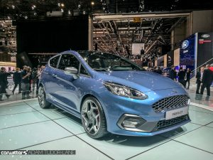 Geneva Motor Show 2017 Ford Fiesta ST Front carwitter 300x225 - Self-Driving Cars and Hybrid Vans: What's Ford's Future? - Self-Driving Cars and Hybrid Vans: What's Ford's Future?