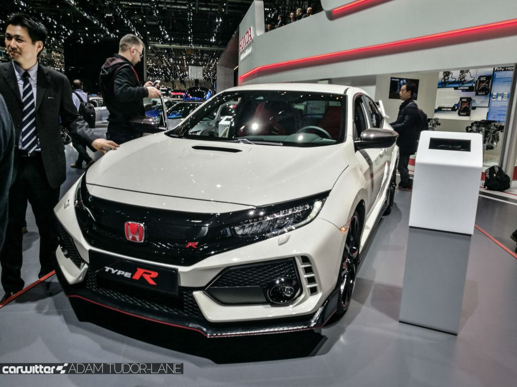 Geneva Motor Show 2017 Honda Civic TypeR Front carwitter 1024x768 - A satirical wander around the 2017 Geneva Motor Show - A satirical wander around the 2017 Geneva Motor Show