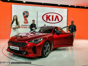 Geneva Motor Show 2017 Kia Stinger Front carwitter 300x225 - A satirical wander around the 2017 Geneva Motor Show - A satirical wander around the 2017 Geneva Motor Show