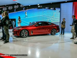 Geneva Motor Show 2017 Kia Stinger Side carwitter 300x225 - A satirical wander around the 2017 Geneva Motor Show - A satirical wander around the 2017 Geneva Motor Show