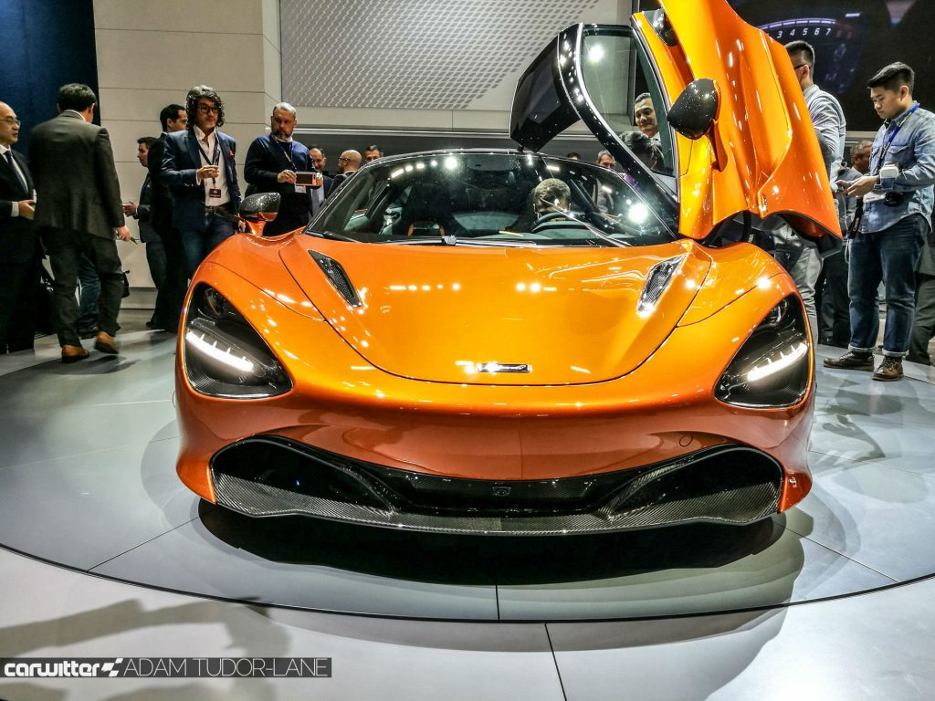 Geneva Motor Show 2017 McLaren 720s Front carwitter 1024x768 - A satirical wander around the 2017 Geneva Motor Show - A satirical wander around the 2017 Geneva Motor Show
