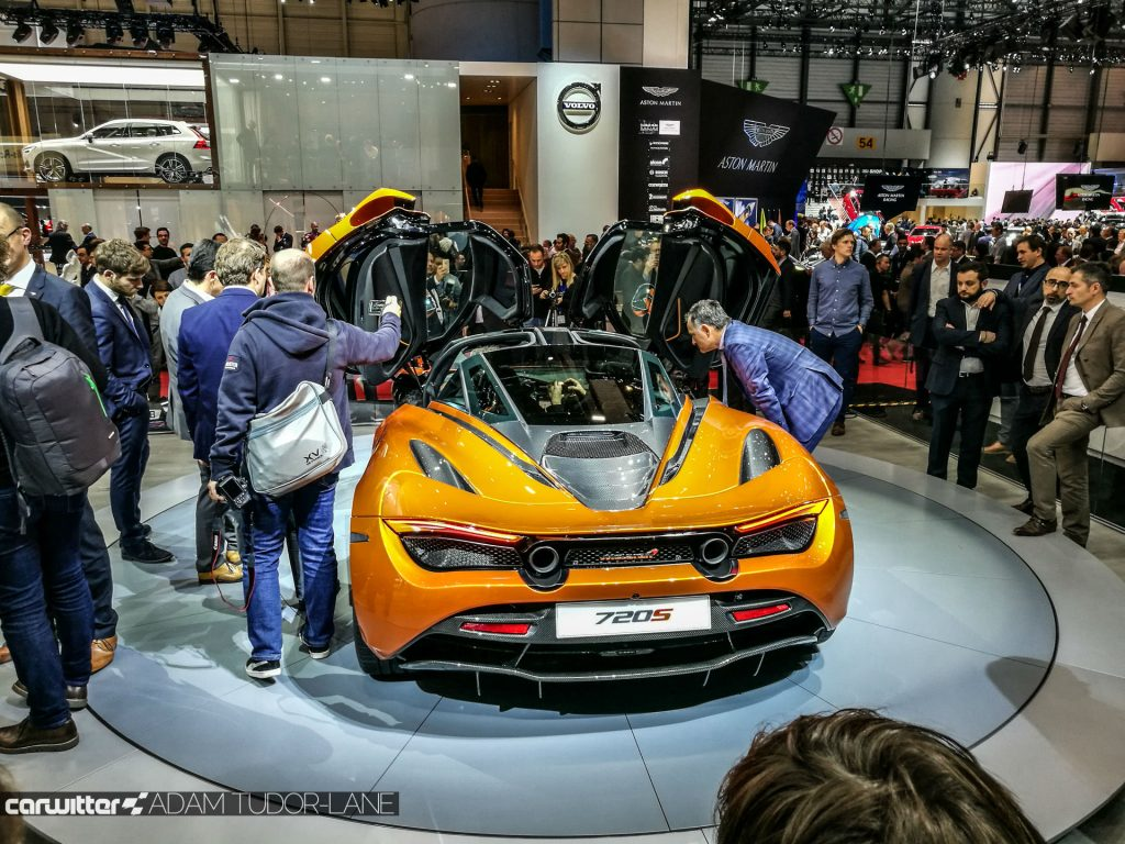 Geneva Motor Show 2017 McLaren 720s Rear High carwitter 1024x768 - A satirical wander around the 2017 Geneva Motor Show - A satirical wander around the 2017 Geneva Motor Show