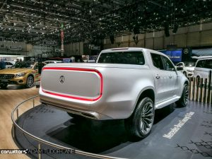Geneva Motor Show 2017 Mercedes Benz Concept X Class Rear carwitter 300x225 - A satirical wander around the 2017 Geneva Motor Show - A satirical wander around the 2017 Geneva Motor Show