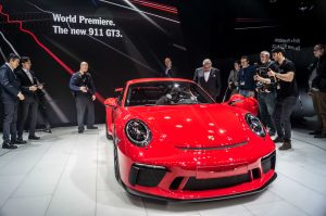 Geneva Motor Show 2017 Porsche 911 GT3 Manual carwitter 300x199 - A satirical wander around the 2017 Geneva Motor Show - A satirical wander around the 2017 Geneva Motor Show