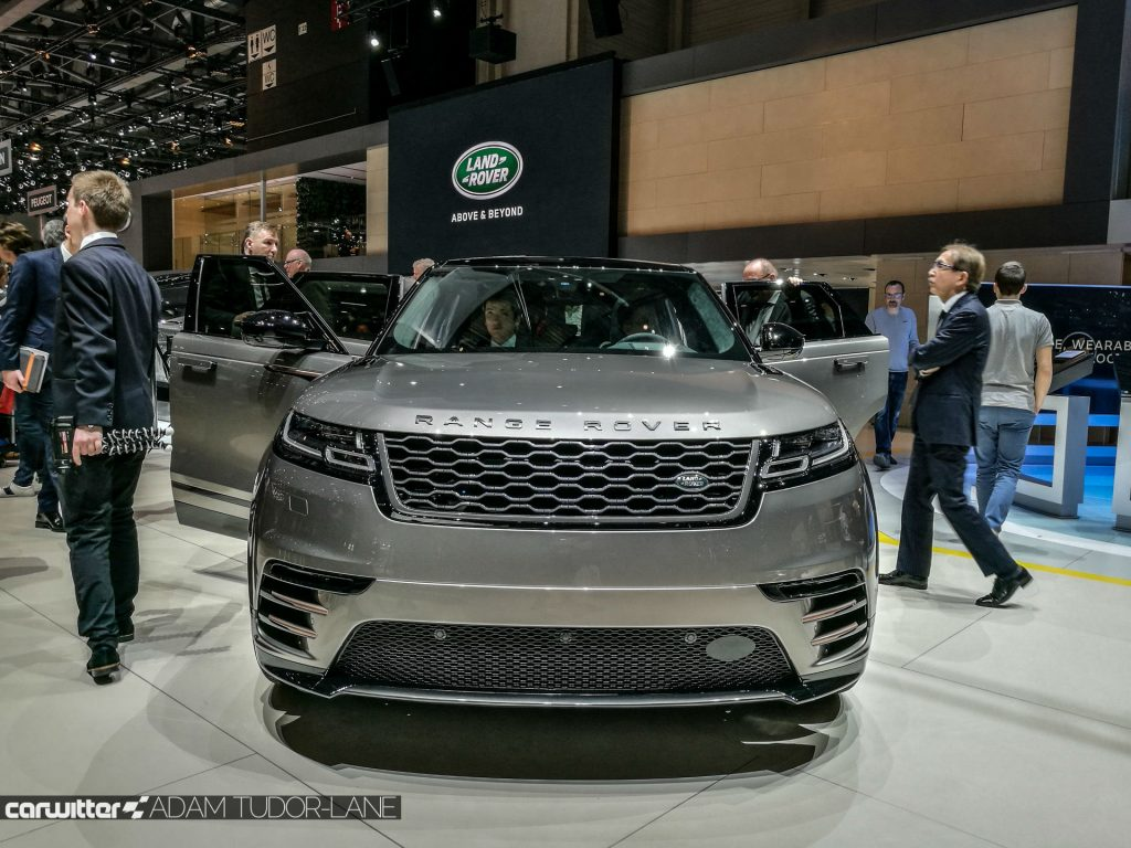 Geneva Motor Show 2017 Range Rover Velar Front carwitter 1024x768 - A satirical wander around the 2017 Geneva Motor Show - A satirical wander around the 2017 Geneva Motor Show