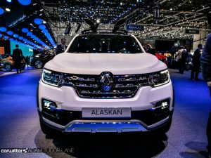 Geneva Motor Show 2017 Renault Alaskan Pickup Front carwitter 300x225 - A satirical wander around the 2017 Geneva Motor Show - A satirical wander around the 2017 Geneva Motor Show