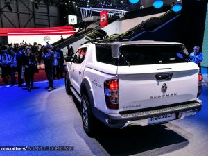 Geneva Motor Show 2017 Renault Alaskan Pickup Rear carwitter 300x225 - A satirical wander around the 2017 Geneva Motor Show - A satirical wander around the 2017 Geneva Motor Show