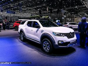 Geneva Motor Show 2017 Renault Alaskan Pickup Side carwitter 300x225 - A satirical wander around the 2017 Geneva Motor Show - A satirical wander around the 2017 Geneva Motor Show