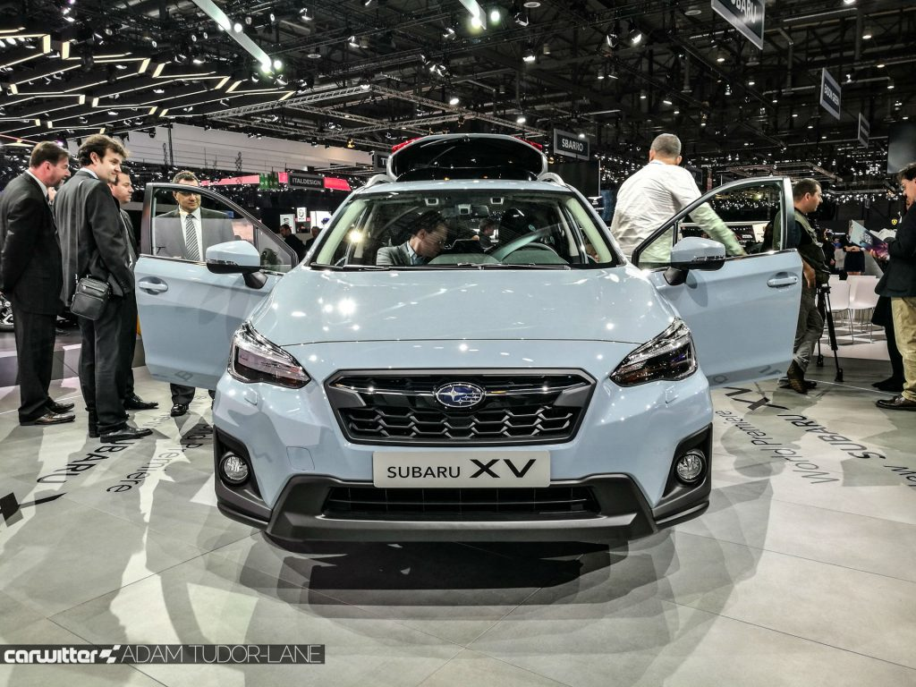 Geneva Motor Show 2017 Subaru XV Front carwitter 1024x768 - A satirical wander around the 2017 Geneva Motor Show - A satirical wander around the 2017 Geneva Motor Show