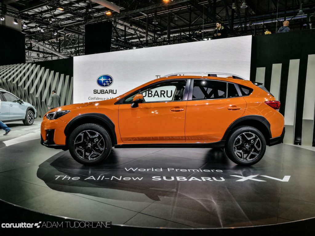 Geneva Motor Show 2017 Subaru XV Side carwitter 1024x768 - A satirical wander around the 2017 Geneva Motor Show - A satirical wander around the 2017 Geneva Motor Show