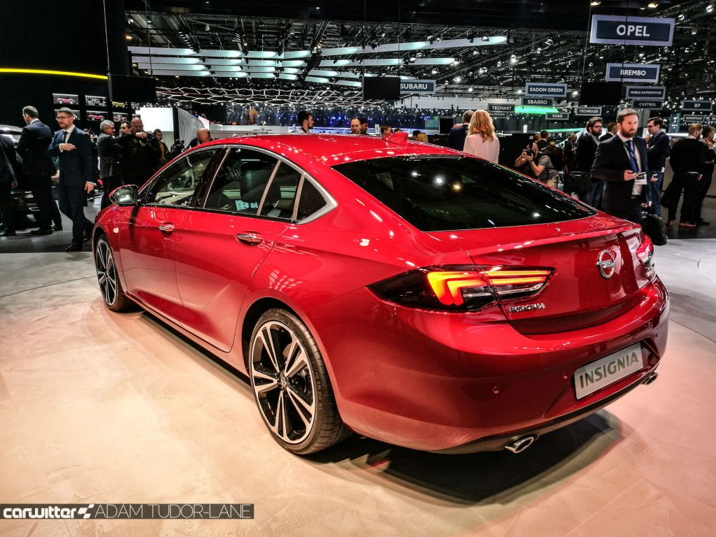 Geneva Motor Show 2017 Vauxhall Insignia Rear carwitter 1024x768 - A satirical wander around the 2017 Geneva Motor Show - A satirical wander around the 2017 Geneva Motor Show