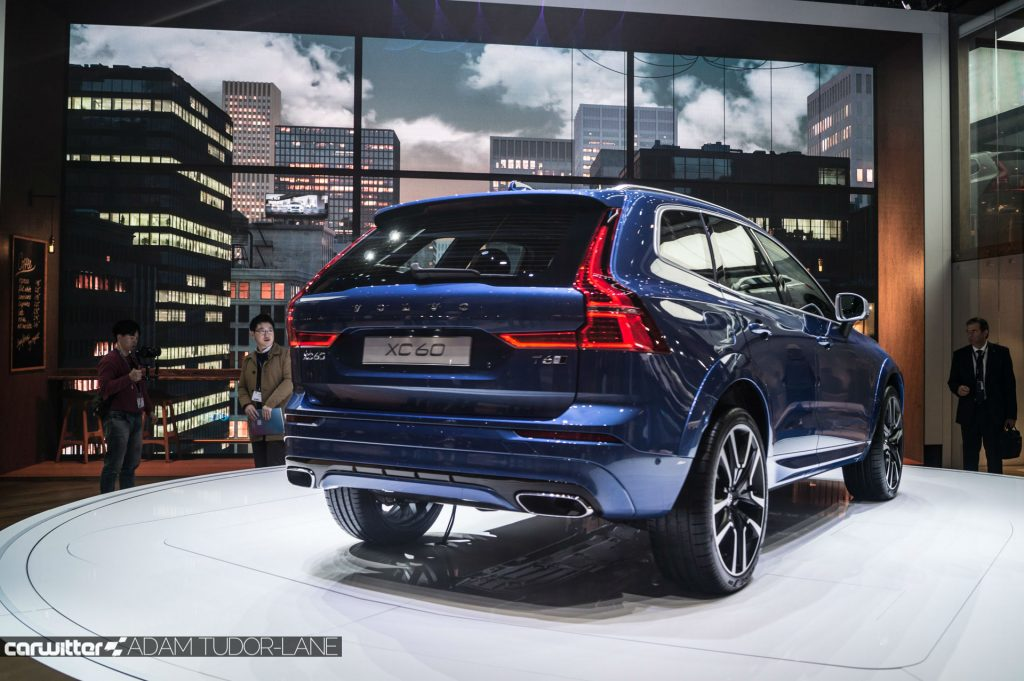 Geneva Motor Show 2017 Volvo XC60 Rear carwitter 1024x681 - A satirical wander around the 2017 Geneva Motor Show - A satirical wander around the 2017 Geneva Motor Show