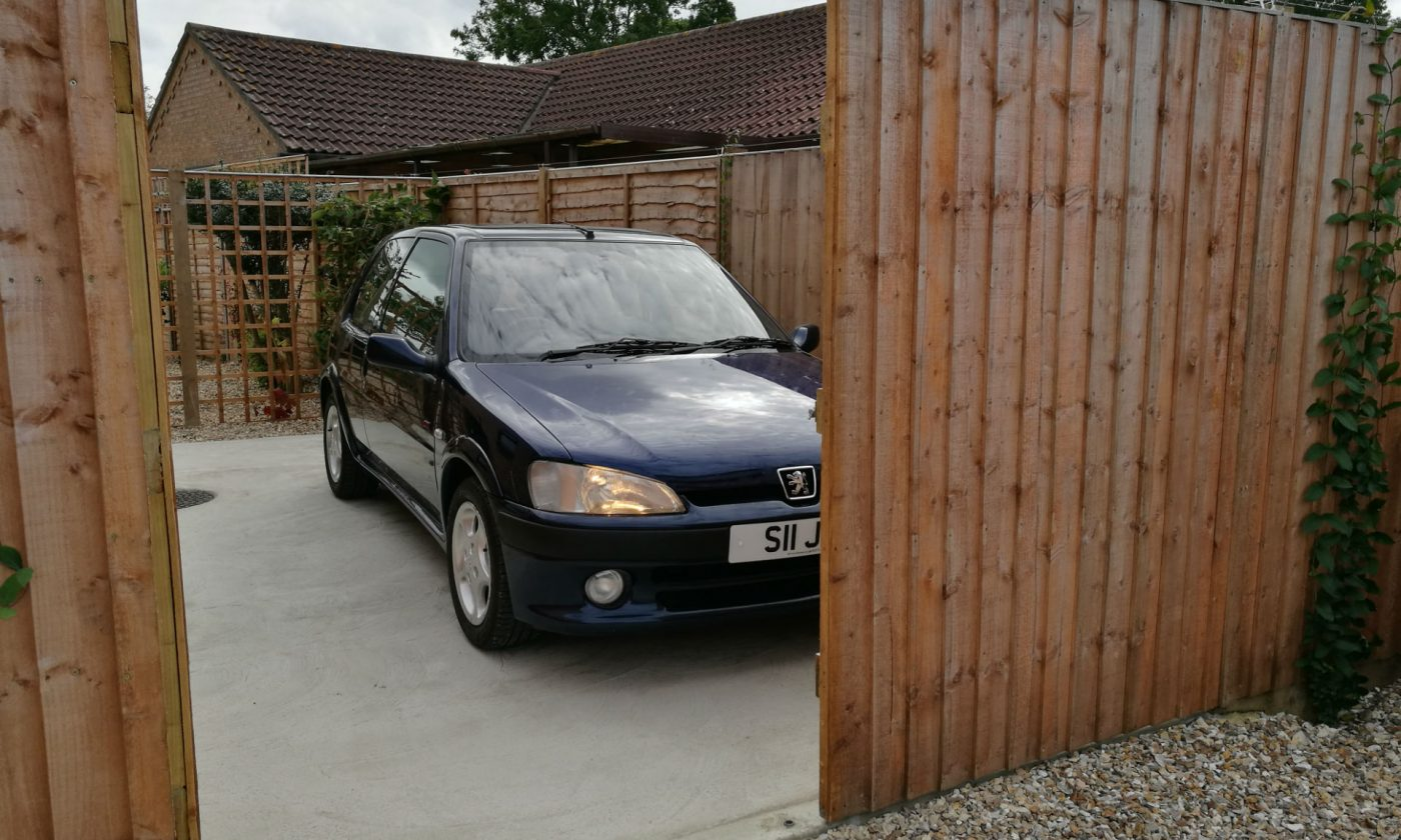Peugeot 106 GTi On Drive 001 carwitter 1400x840 - PROJECT 106 GTi - Its new home - PROJECT 106 GTi - Its new home