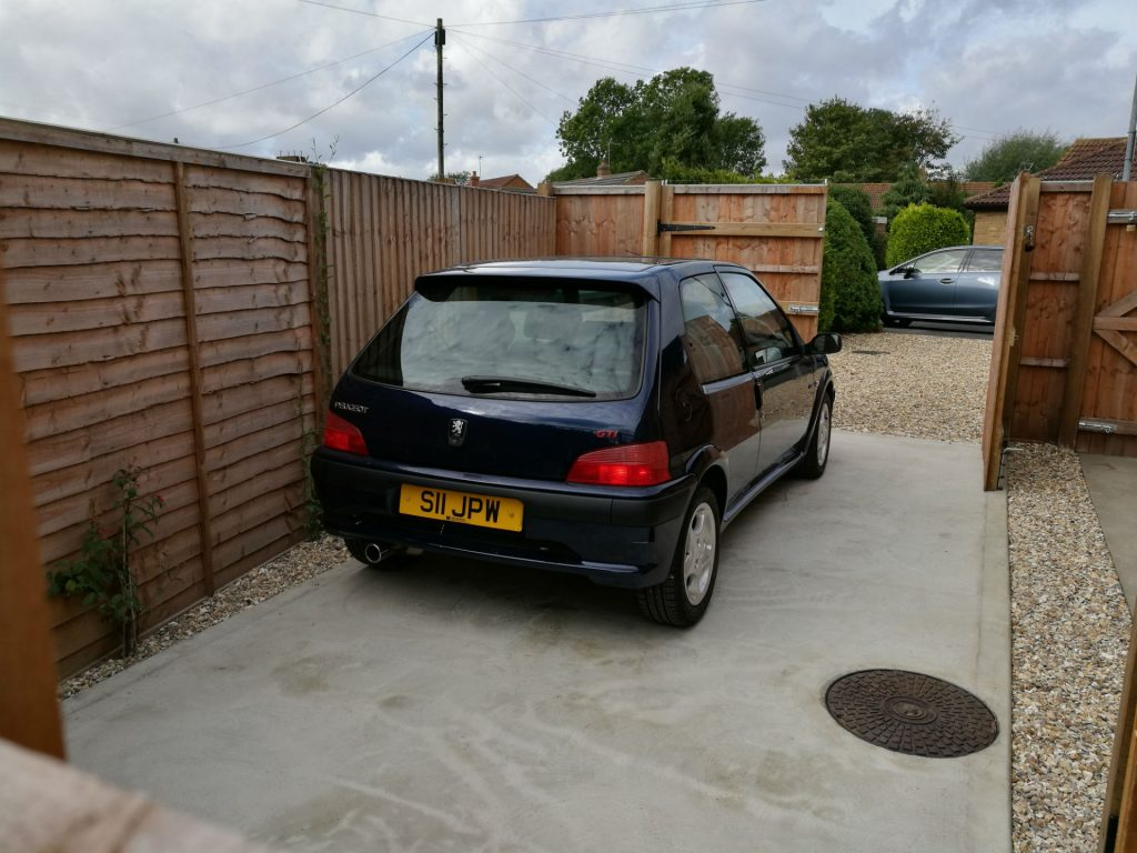 Peugeot 106 GTi On Drive 002 carwitter 1024x768 - PROJECT 106 GTi - Its new home - PROJECT 106 GTi - Its new home