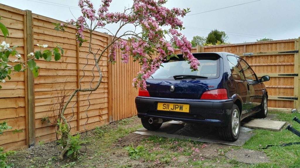 Peugeot 106 GTi Rear Parked Up 001 carwitter 1024x575 - Project 106 GTi - Tidying up - Project 106 GTi - Tidying up