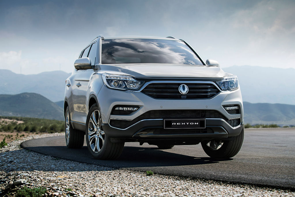 SsangYong Rexton Front 2 - SsangYong Confirm Large SUV to be called Rexton...again - SsangYong Confirm Large SUV to be called Rexton...again