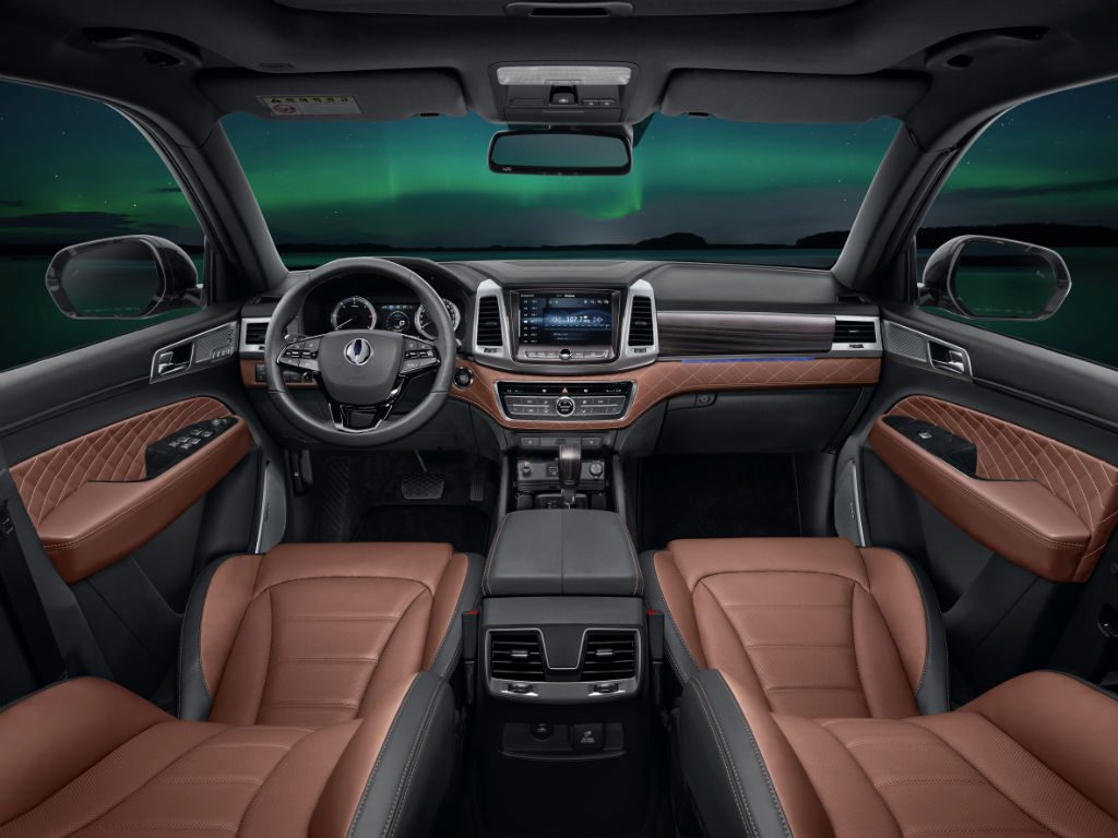 SsangYong Rexton Interior 1024x768 - SsangYong Confirm Large SUV to be called Rexton...again - SsangYong Confirm Large SUV to be called Rexton...again