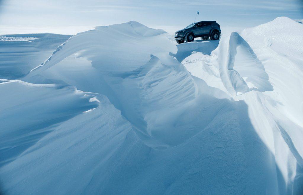 2017 Hyundai Santa Fe Shackleton Antartic Artic Trucks 005 carwitter 1024x659 - Hyundai Santa Fe returns a Shackleton to the Antarctic - SPONSORED - Hyundai Santa Fe returns a Shackleton to the Antarctic - SPONSORED