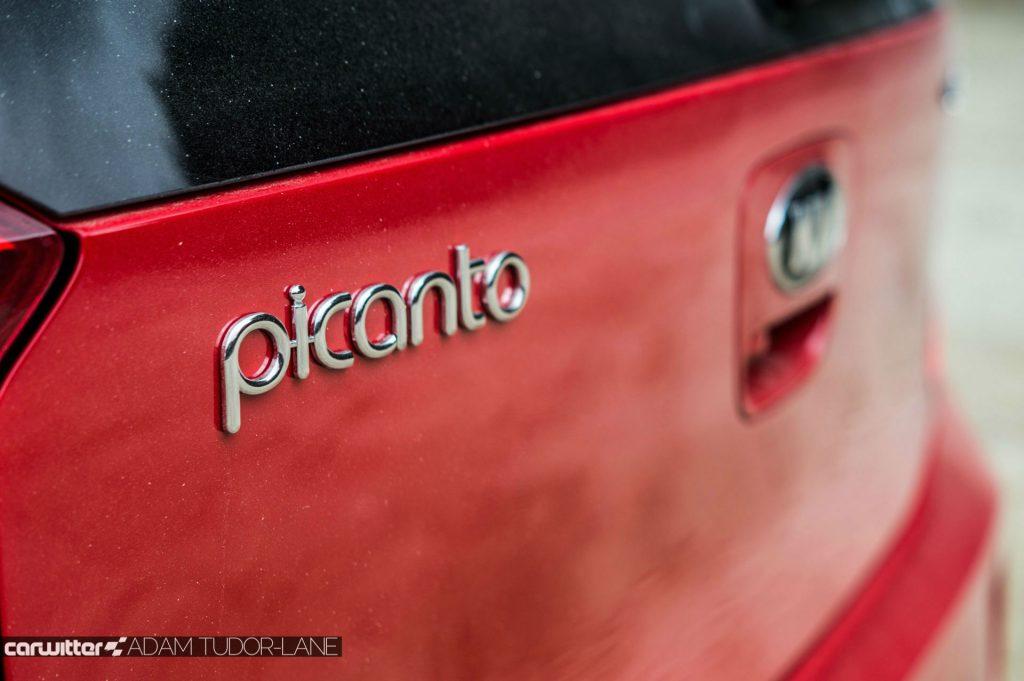 2017 Kia Picanto Review Rear Badge carwitter 1024x681 - 2017 Kia Picanto Review - 2017 Kia Picanto Review