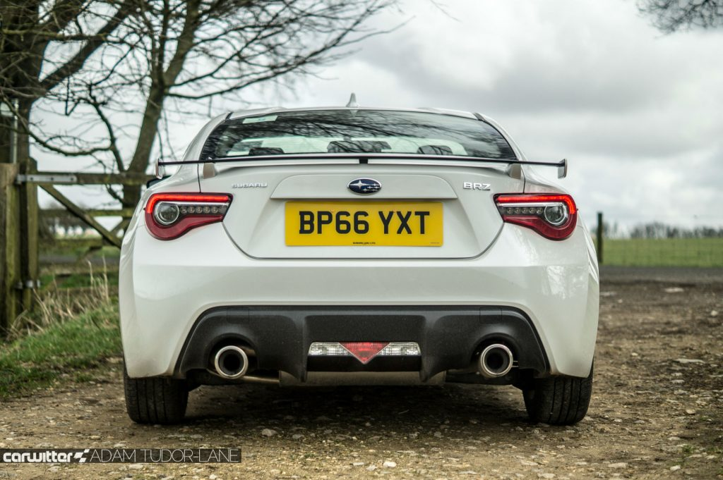 2017 Subaru BRZ Review Rear carwitter 1024x681 - Subaru BRZ 2017 UK Review - Subaru BRZ 2017 UK Review