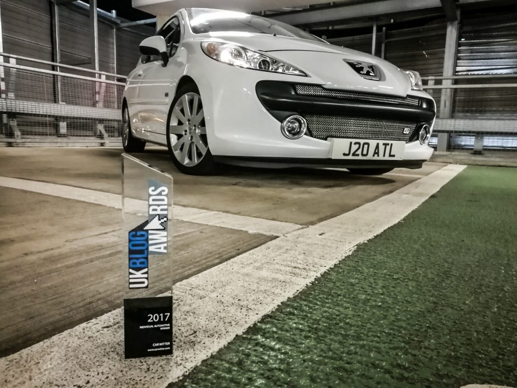 2017 UK Blog Awards Automotive Winner 001 carwitter 1024x768 - We Won! UK Blog Awards 2017 - We Won! UK Blog Awards 2017