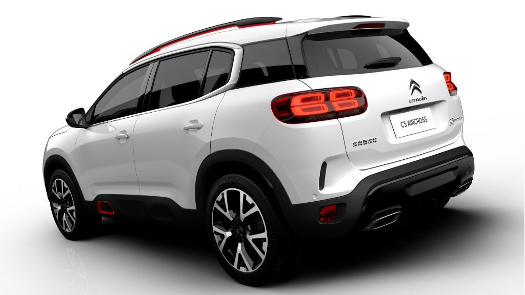 Citroen C5 Aircross Back 1024x576 - Citroen Reveal C5 Aircross - Citroen Reveal C5 Aircross