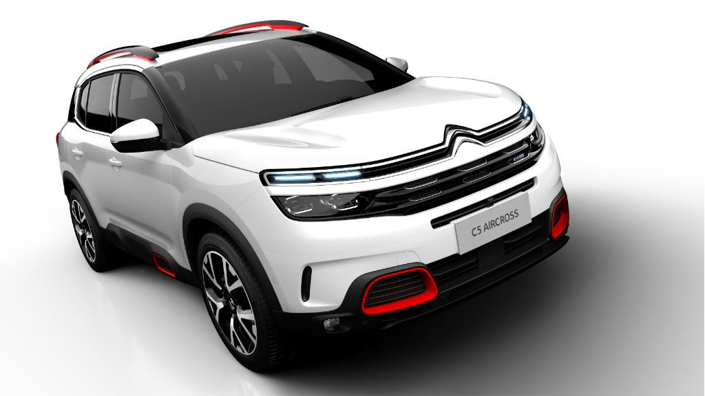 Citroen C5 Aircross Front 1024x576 - Citroen Reveal C5 Aircross - Citroen Reveal C5 Aircross