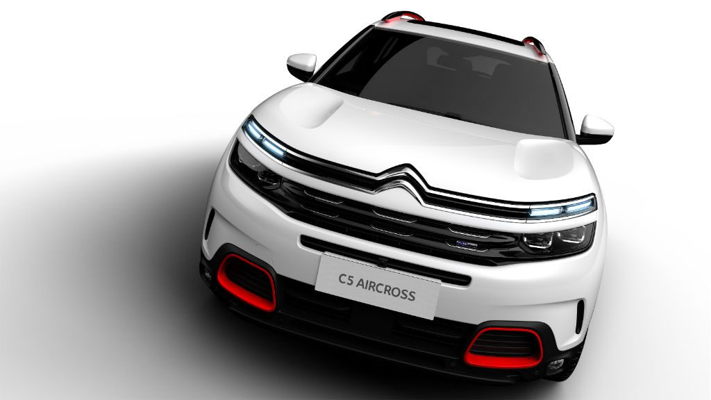 Citroen C5 Aircross Front 2 1024x576 - Citroen Reveal C5 Aircross - Citroen Reveal C5 Aircross