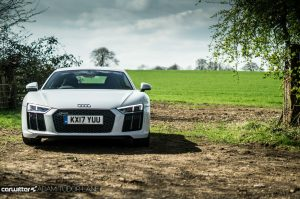 2017 Audi R8 Coupe Review Front Scene carwitter 300x199 - 2017 Audi R8 V10 Review - You don't need the Plus, here's why - 2017 Audi R8 V10 Review - You don't need the Plus, here's why
