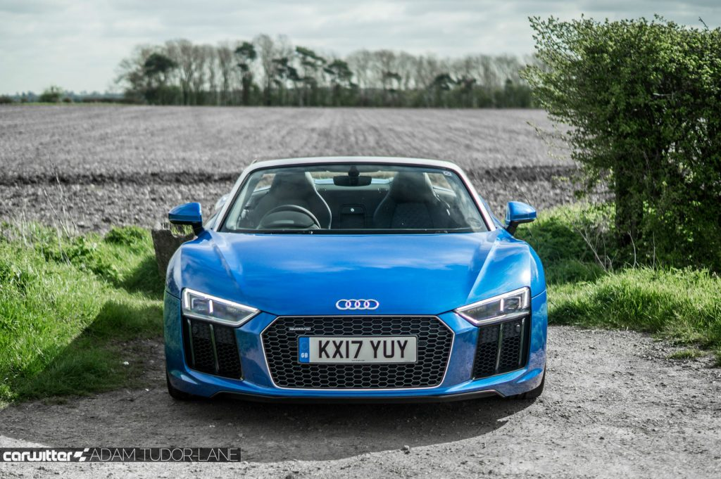 2017 Audi R8 Spyder Review 001 carwitter 1024x681 - 2017 Audi R8 V10 Review - You don't need the Plus, here's why - 2017 Audi R8 V10 Review - You don't need the Plus, here's why