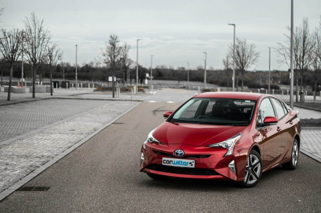 2017 Toyota Pruis Review Front Angle carwitter 1024x681 - Toyota Prius Review 2017 - Toyota Prius Review 2017
