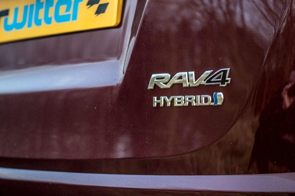 2017 Toyota Rav4 Review Rear Badge carwitter 1024x681 - 2017 Toyota RAV4 Hybrid Review - 2017 Toyota RAV4 Hybrid Review