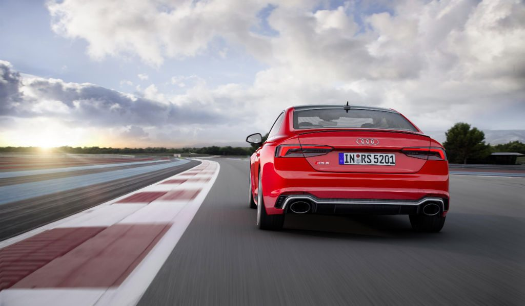 Audi RS5 Coupe Back 1024x598 - New Audi RS5 Coupe to Start From £62,900 - New Audi RS5 Coupe to Start From £62,900